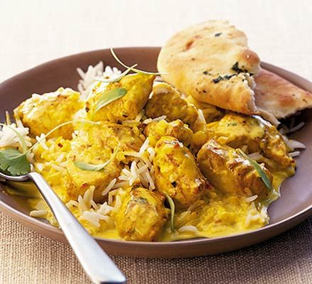 A mild chicken curry with oodles of flavour