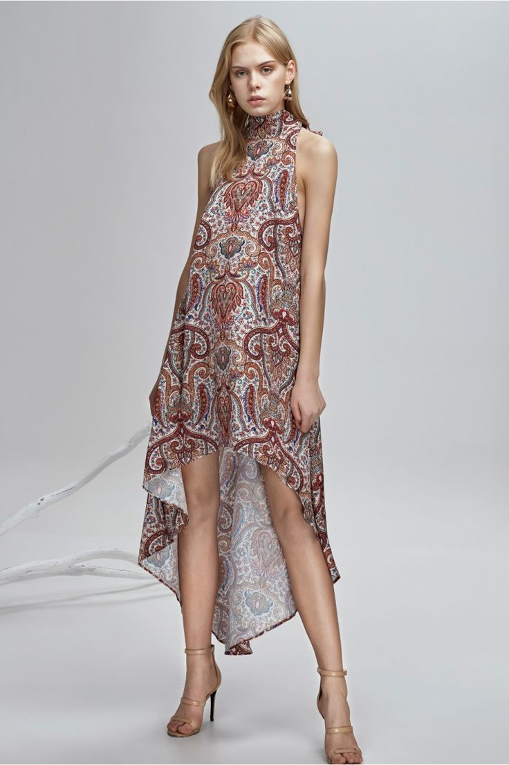 FINDERS KEEPERS CYRUS DRESS henna print