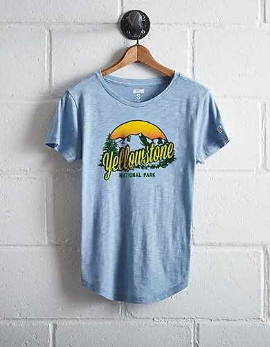 35420d5a8 Tailgate Women's Yellowstone National Park T-Shirt - Free Shipping + Free  Returns