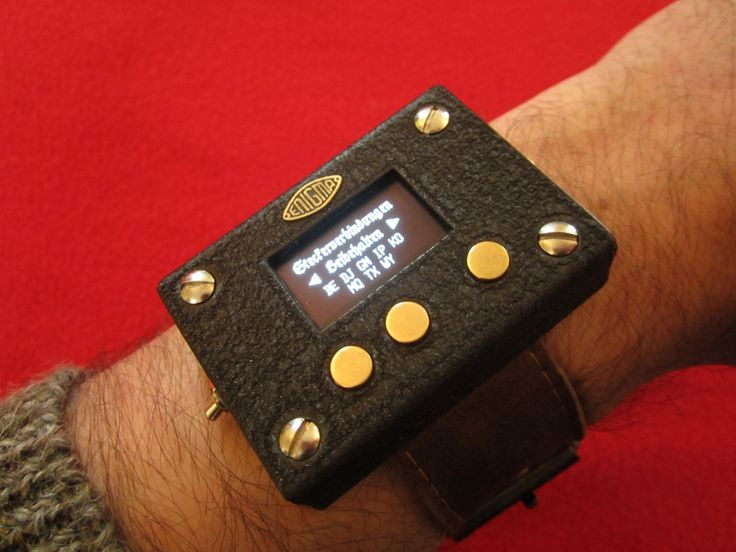 A three rotor Enigma machine wrist watch