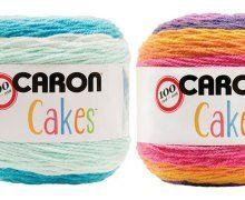 19 Caron cakes patterns