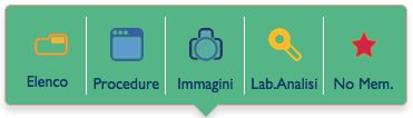 "DoctorOffice3: il menù ""Esami"""