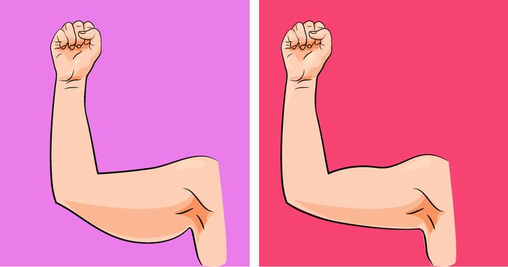 5 home exercises to get rid of flabby arms.