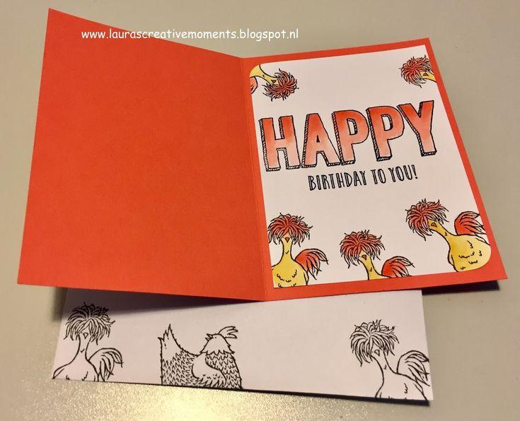 HAPPY birthday to you!     De nieuwe stempelsets uit de Stampin' Up! Voorjaar/Zomer 2017 catalogus en de Sale-a-bration folder ...