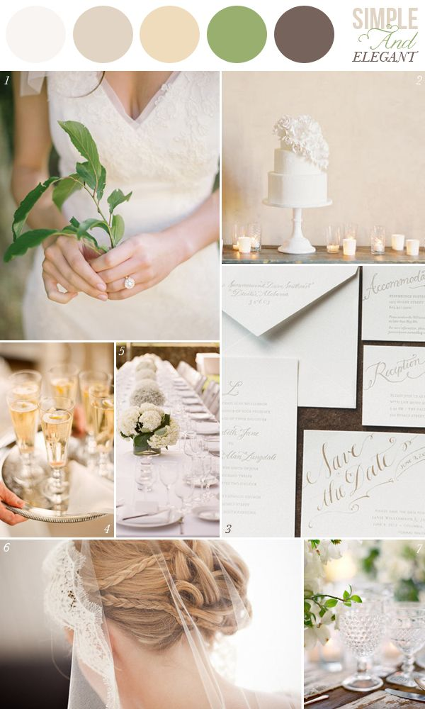 Simple and elegant inspiration board