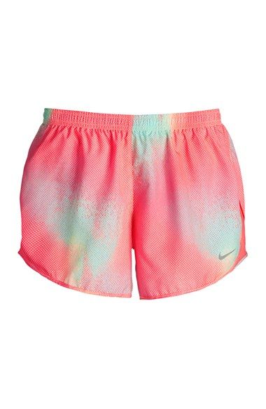 Nike 'Modern Tempo' Print Dri-FIT Shorts (Women) available at #Nordstrom