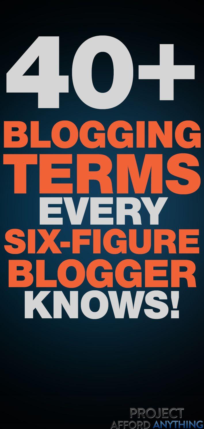 43 Grundlegende Blogging-Begriffe, um herauszufinden, ob Sie es ernst meinen, Geld zu verdienen – Blogging For Beginners   Blogging ideas   Blogging Tips   Blogging