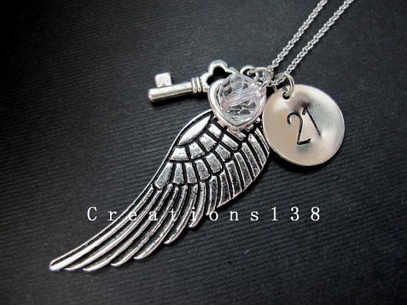 Hey, I found this really awesome Etsy listing at https://www.etsy.com/listing/89632297/personalized-birthday-gift-angel-wing