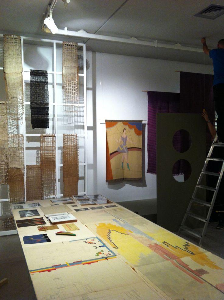 una progettista del tessile ... Anita Pittoni (in arte e architettura nella trieste anni '30, Museo Revoltella)