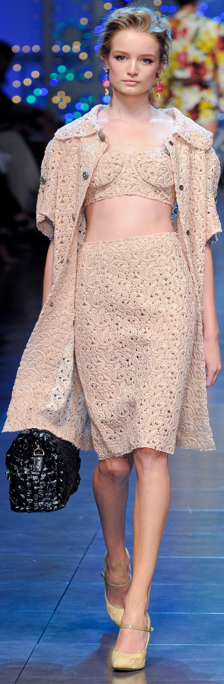 Dolce & Gabbana spring 2012.