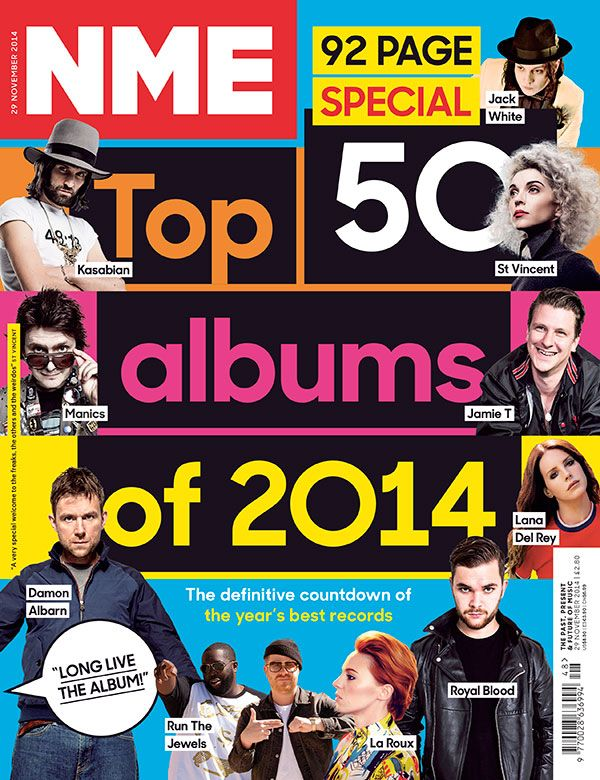 NME's Top 50 Albums of 2014, 29 November 2014