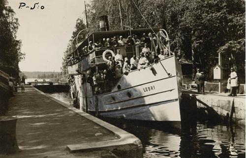 S/S Louhi, Summer 1932.