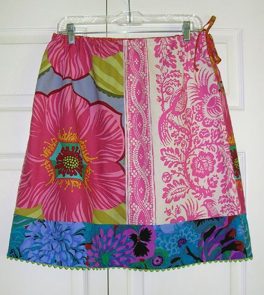 Fat Quarter Skirt example