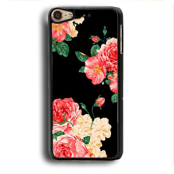 Large Carnations Floral iPod Touch 6 Case | Aneend