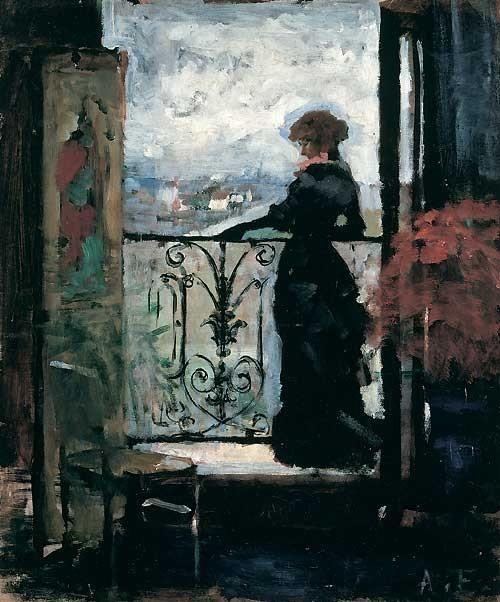 by Finnish painter Albert Gustaf Aristides Edelfelt (1854 - 1905)