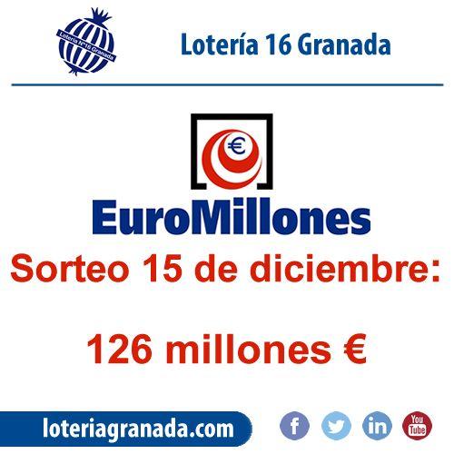 Prepárate para El Gordo de Navidad con un gran sorteo de euromillón!!Este Viernes 126  millones te esperan en  ➡http://qoo.ly/jxqxx⬅