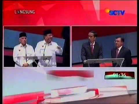 Debat Capres Cawapres 2014: Jusuf Kalla vs Prabowo Soal Pelanggaran HAM ...