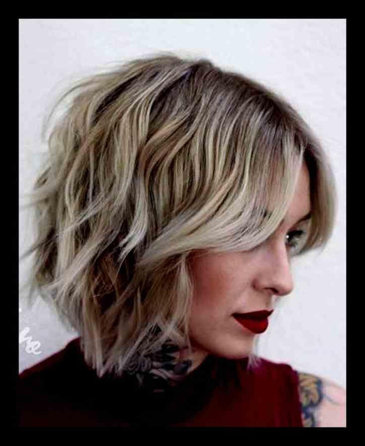 Neuesten Frisuren 2019 Bob Mittellang Inspirierende Weibliche Lange