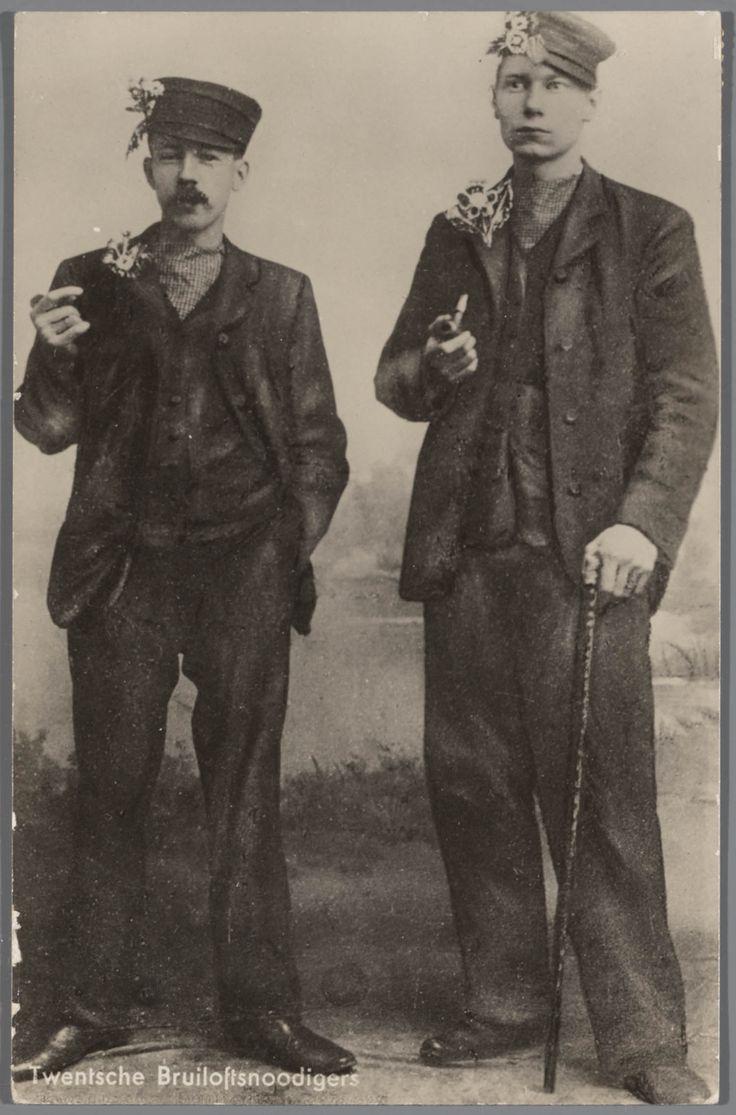 Twentsche Bruiloftsnoodigers - Het Geheugen van Nederland - Online beeldbank van Archieven, Musea en Bibliotheken