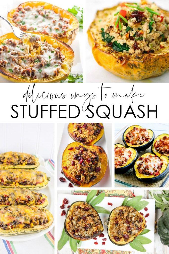 20 Stuffed Squash Recipes With Images Squash Recipes Acorn