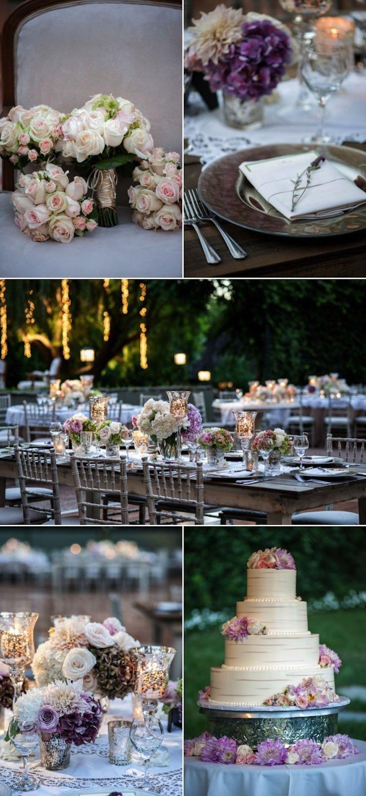 A Sweet and Elegant Backyard Wedding | Encino, California - International Event Company