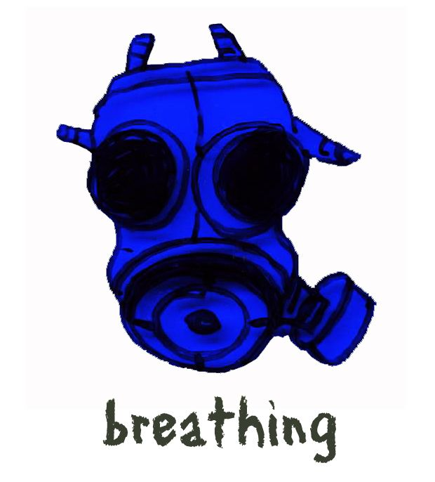Are you breathing hard at all?