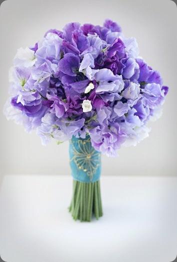 Ramo de guisantes de olor :: Sweetpeas bouquet fleurs nyc