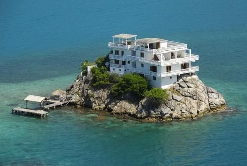 Island.: Dreams Home, Funny Pics, The View, Islands Houses, Private Islands, Beaches Houses, Central America, Honduras, Islands Home