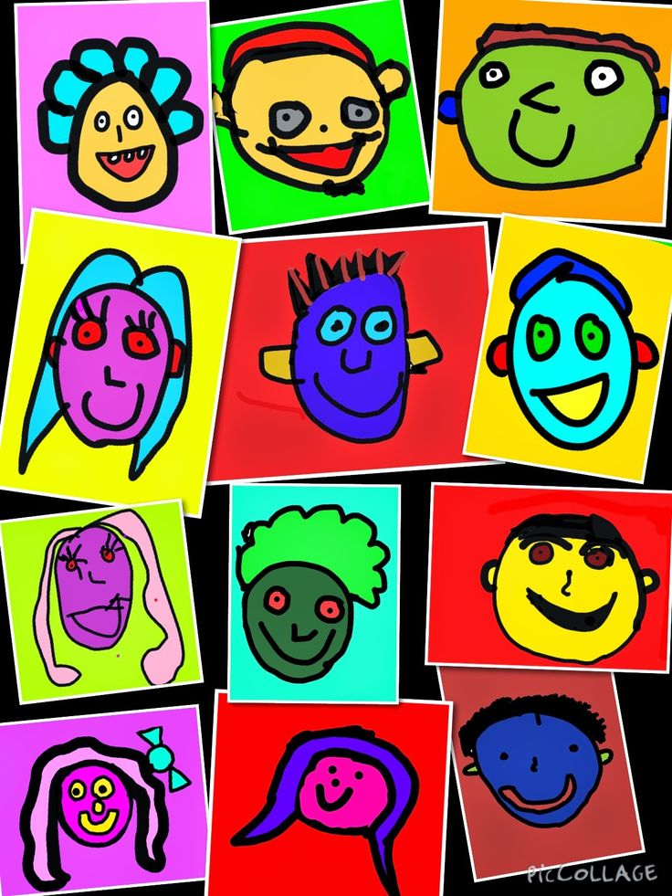 Inquiry over iPads: Todd Parr Inspired Self Portraits