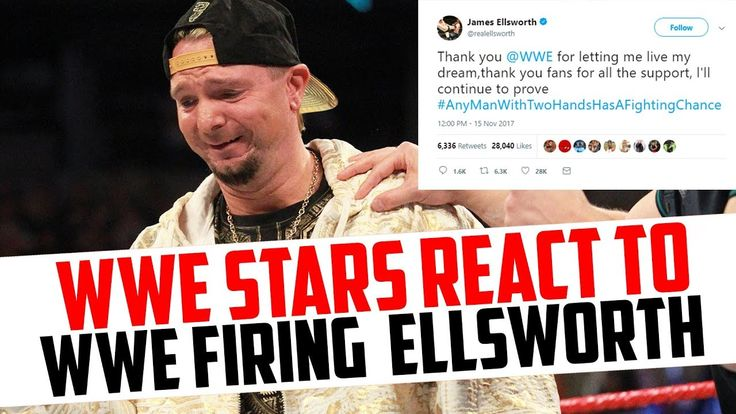 WWE Wrestlers React To WWE Releasing James Ellsworth