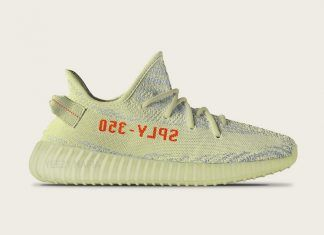 The adidas Yeezy Boost 350 Semi-Frozen Yellow (Style Code: is set to  release December 2017 featuring yellow and blue zebra stripes.