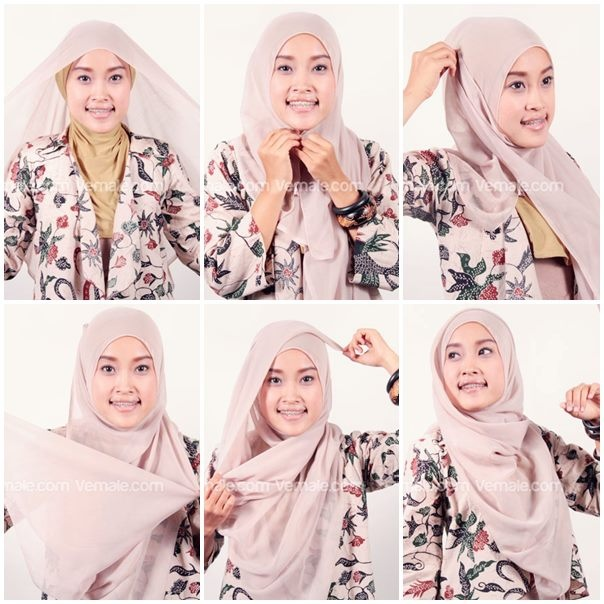 Paris Hijab ( square Hijab )