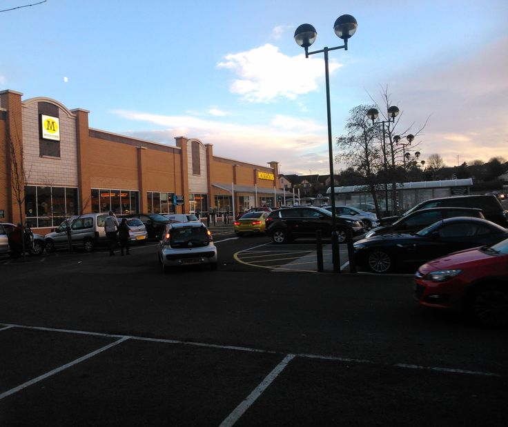 A Morrisons supermarket at Birmingham Great Park, Rubery.
