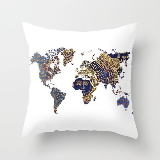 Buy Map of the world sun Throw Pillow by jbjart. Worldwide shipping available at Society6.com. Just one of millions of high quality products available.
