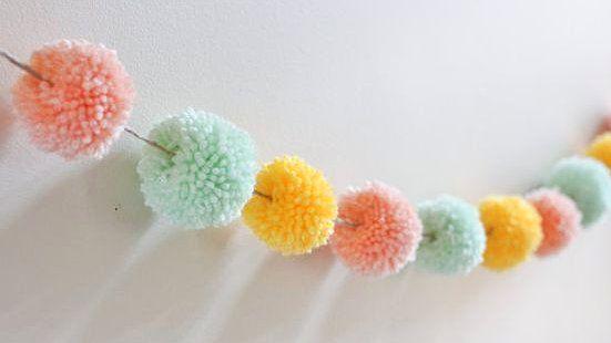 decorar pompones