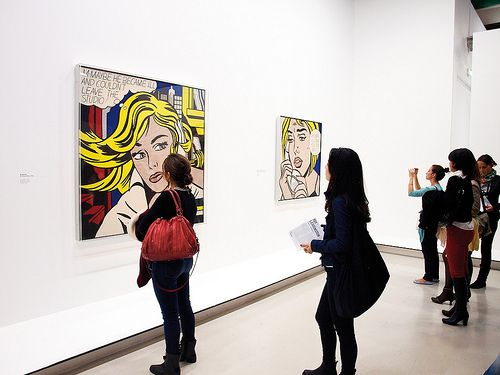 Roy Lichtenstein al Centre Pompidou di Parigi 2013- @ AnnaFanchin for #kyossmagazine