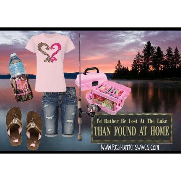 """""""Lake wear"""" by realhunterswives on Polyvore"""