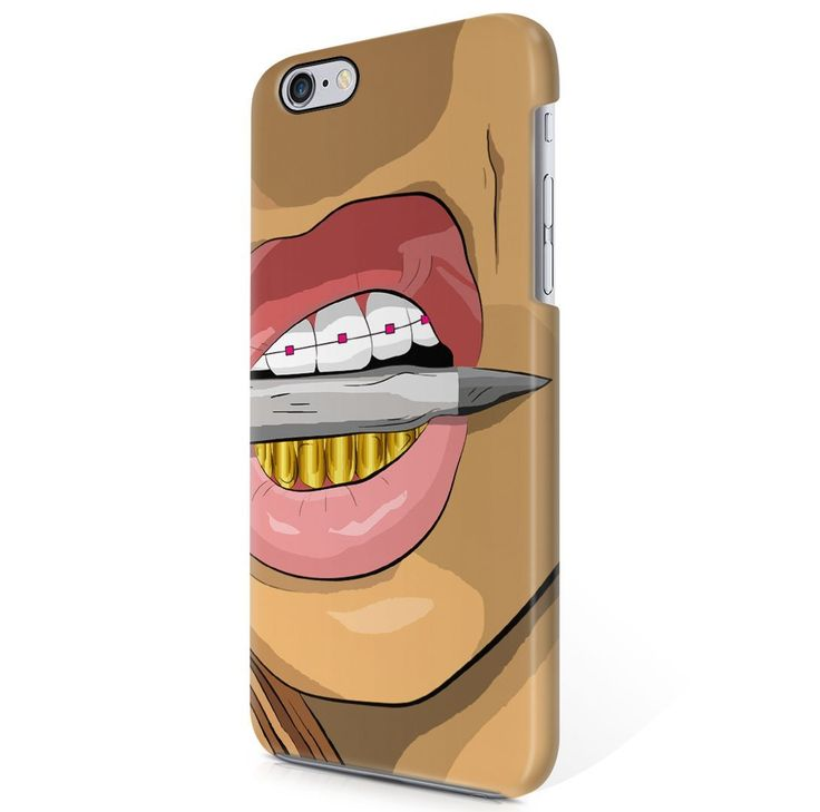 Amazon.com: ASAP Rocky Goldie Gold Grills Trill Shit iPhone 6, iPhone 6S Hard Plastic Phone Case Cover: Cell Phones & Accessories