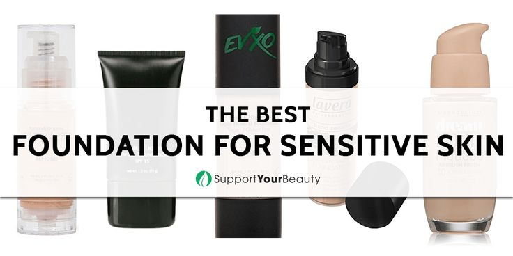 The Best Foundation For Sensitive Skin – 2017 Reviews & Top Picks - Click here http://rebrand.ly/lps3 to Support Your Beauty! #Foundations #beauty