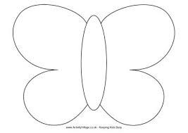 butterfly template - Google Search