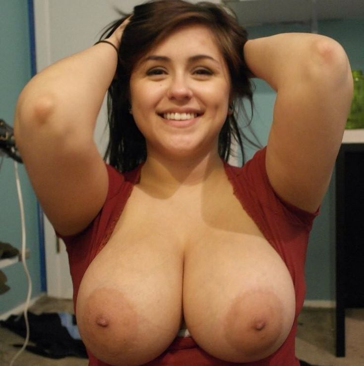 Big saggy natural heavy mature melons