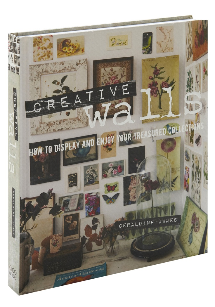 Some might be wooed by the bare white walls of minimalism, but when it comes to an empty farmhouse, flat, or frosh's dorm room, Geraldine James sees a blank canvas begging for character! Among the amazing color photos in this hardback guide, the interior guru offers ideas and instructions for creating a dazzling display out of any surface or space.