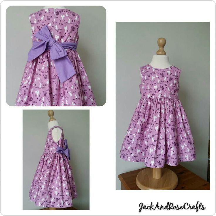 New item in my shop. Purple audrey dress with white rabbits hopping in the meadows. A great dress to take through to autumn/winter.