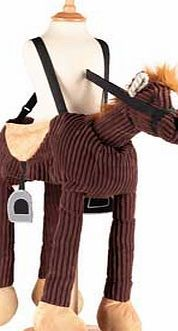 Dress Up by Design Ride On Pony - One Size For budding cowboys. jockeys and horse lovers everywhere! This brown soft corduroy pony costume can be easily worn over any outfit with adjustable straps and easy Velcro fastening. The mock saddle and http://www.comparestoreprices.co.uk/childrens-dressing-up-clothes/dress-up-by-design-ride-on-pony--one-size.asp