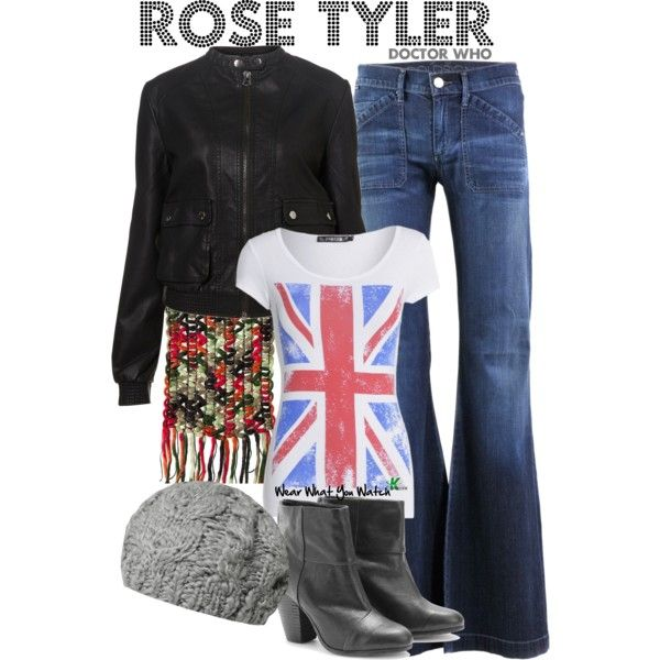 Inspired by Doctor Who character Rose Tyler played by Billie Piper.