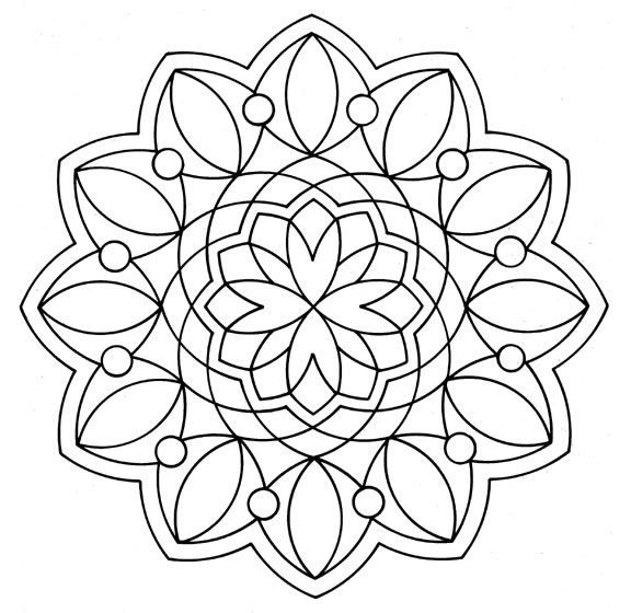 Mandala Color Page Miscellaneous Coloring Pages For Kids Thousands Of Free Printable