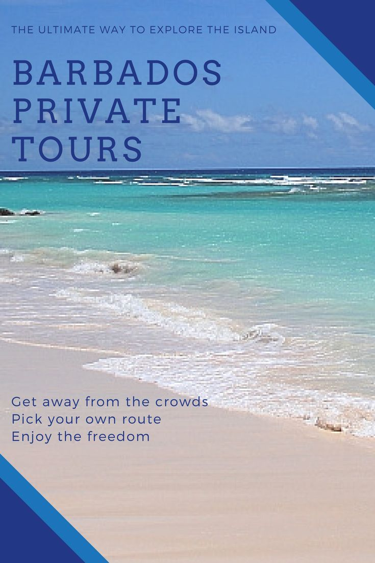 Get away from the crowds, pick your own route and enjoy the freedom of having a private tour of Barbados.