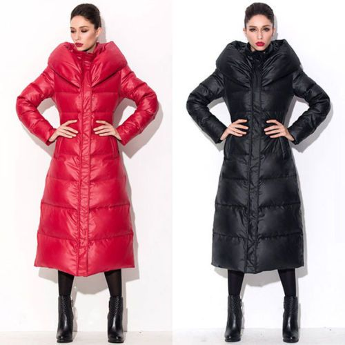 Womens Long Winter Coat With Hood