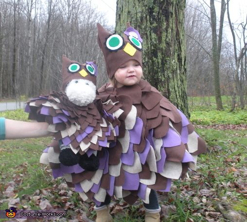 Woodland Owl Baby Costume - 2013 Halloween Costume Contest via @costumeworks This is the costume I made last October. Go to the website to vote for it!!