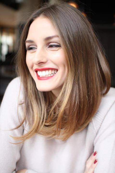 I think this is my exact coloring. Great look on Olivia Palermo.